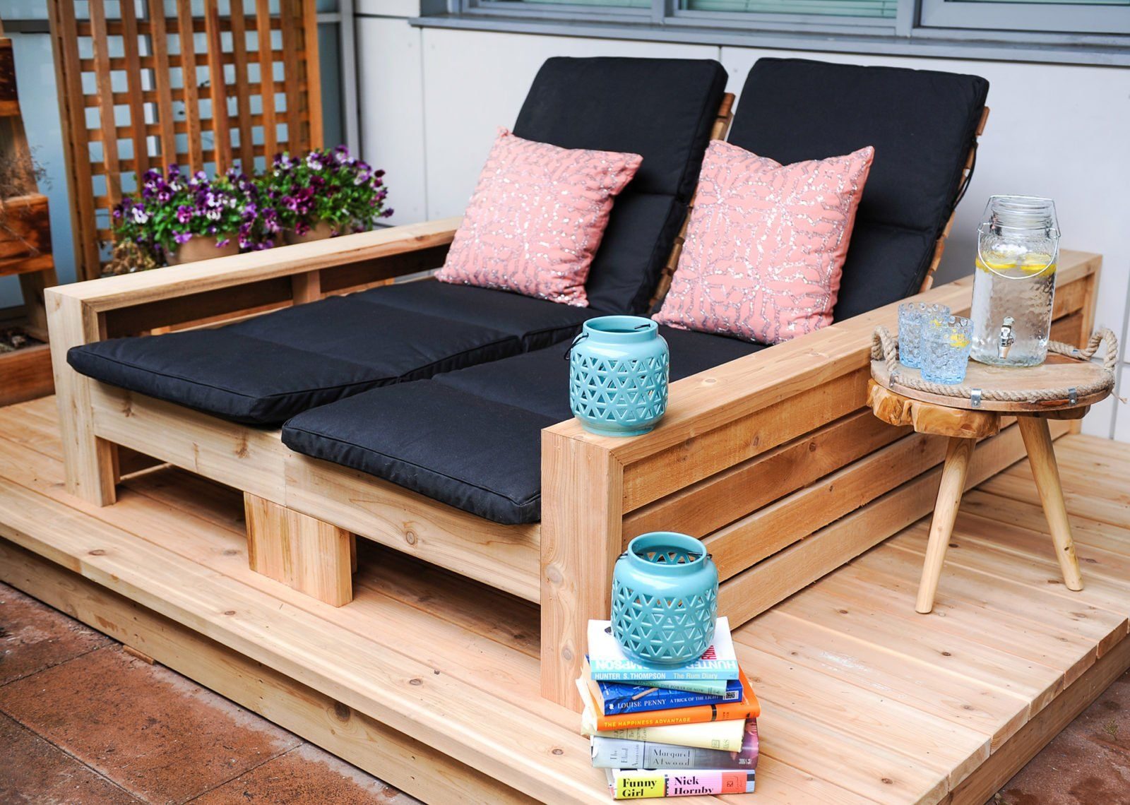 Free Outdoor Chaise Lounge Project Plans  Lounge chair outdoor