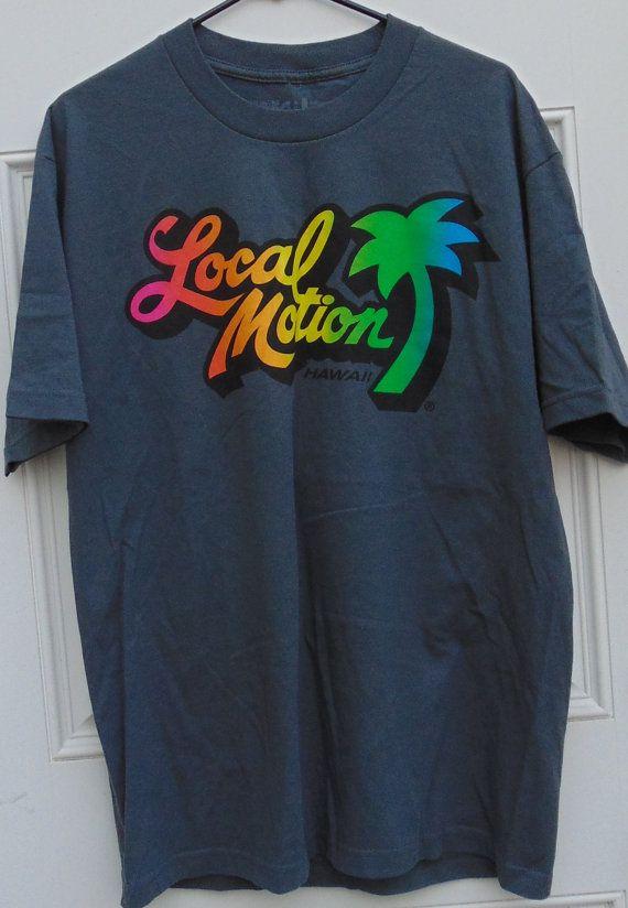 Vintage 90's LOCAL MOTION Surfboards Hawaii Sweatshirt Jumper Medium Size Great Condition gLJch2wh