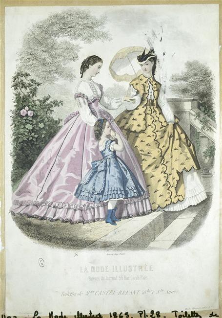 Fashion Plate 1865 La Mode Illustree Example Of White Shirts Fashion Plates Historical Fashion Fashion Prints