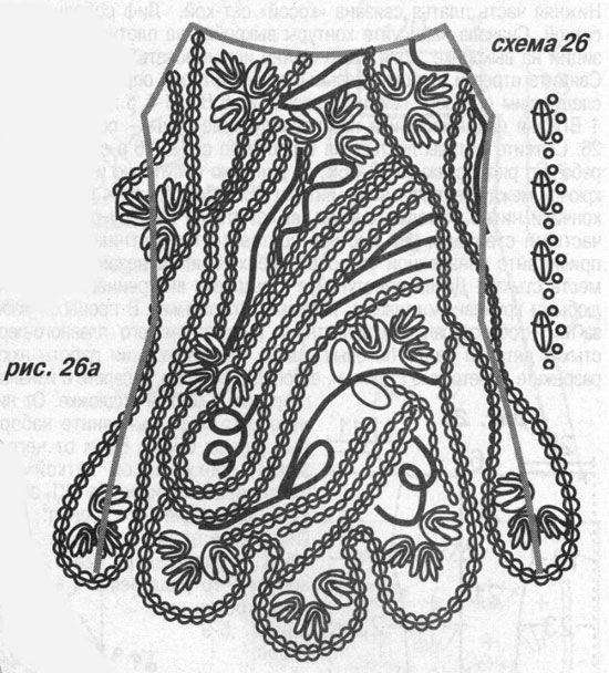 TRICO y CROCHET-madona-mía: Encaje de Brujas Modelos con patrón ...