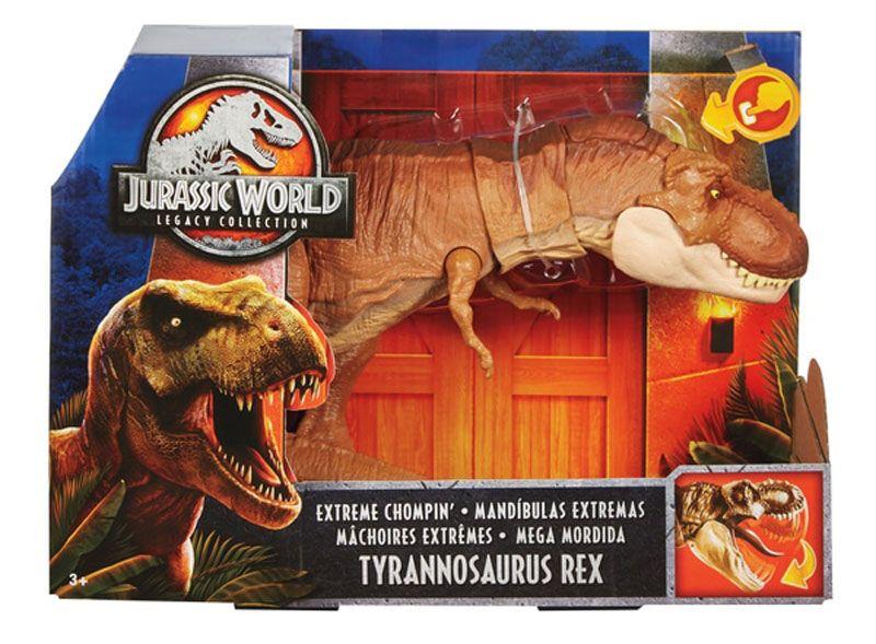 Jurassic World M/áscara de juguete Tyrannosaurus Rex Mattel FLY93