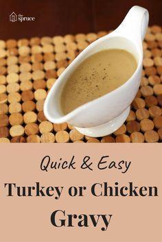 See How to Make Gravy, Step-By-Step #turkeygravyfromdrippingseasy