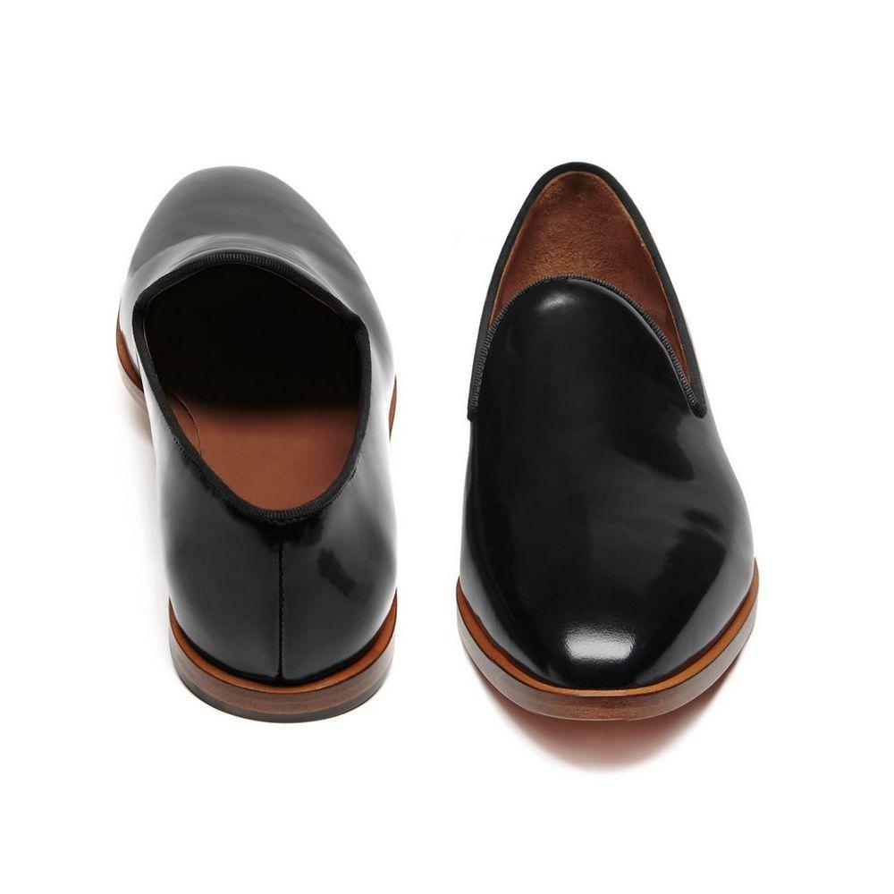 476cff74213 Loafer in Black Polished Calf