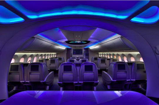 Boeing dreamliner interior also airplanes pinterest rh