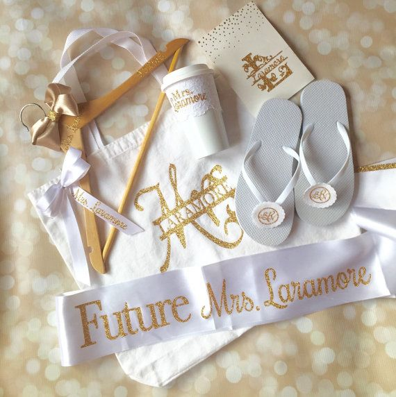 Wedding Gift Ideas For The Bride: Bridal Shower Gift Set