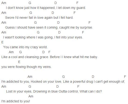 Avicii - Addicted To You Chords Capo 4 | Music | Pinterest | Avicii ...