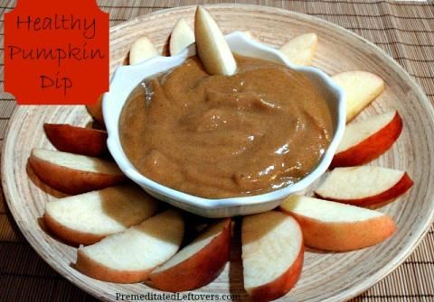 Healthy Pumpkin Dip Recipe #pumpkindip