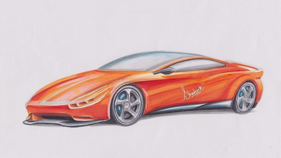 Concept car sketch  . . .  #cardesign #design #car #automotivedesign #carsketch #cardesigner #sketch #cars #cardesignsketch #automotive #conceptcar #art #porsche #photoshop #concept #sketchbook #car design pro #designer #drawing #vehicledesign #carsofinstagram #sketching #carart #cardesignworld