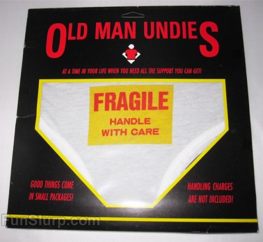 Old Man Christmas Gifts: Over The Hill Gag Gifts
