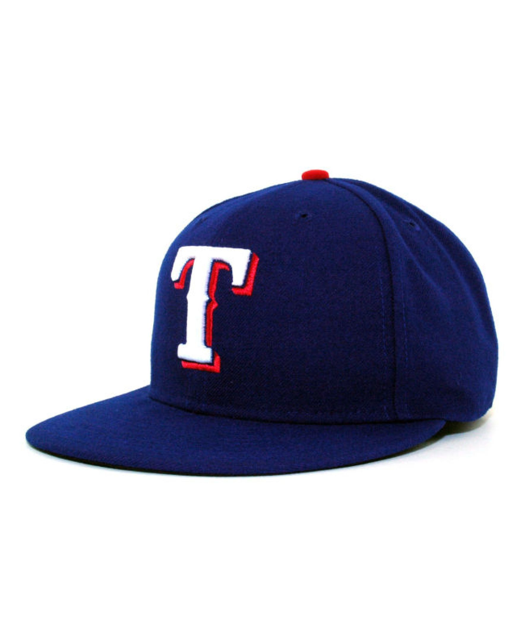 647648a6 New Era Texas Rangers Mlb Authentic Collection 59FIFTY Cap ...