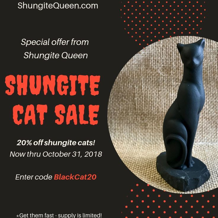 Halloween special from #Shungite Queen! Why not have a Halloween