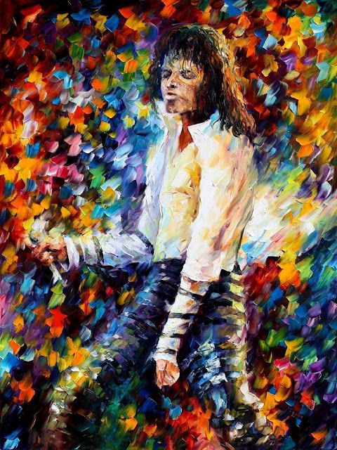Michael Jackson by Leonid Afremov