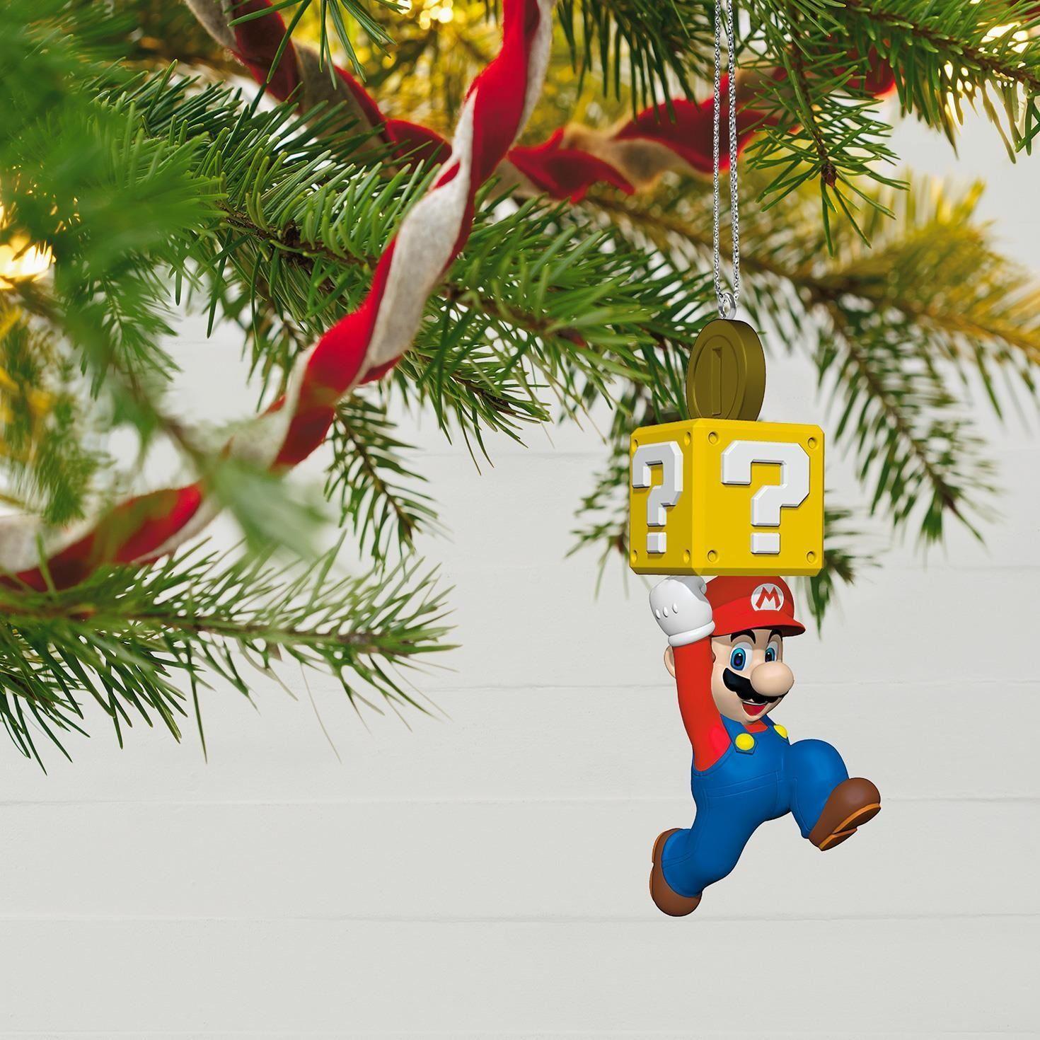Where Did The Christmas Tree Tradition Originate: Hallmark Keepsake 2017 Super Mario Christmas Ornament