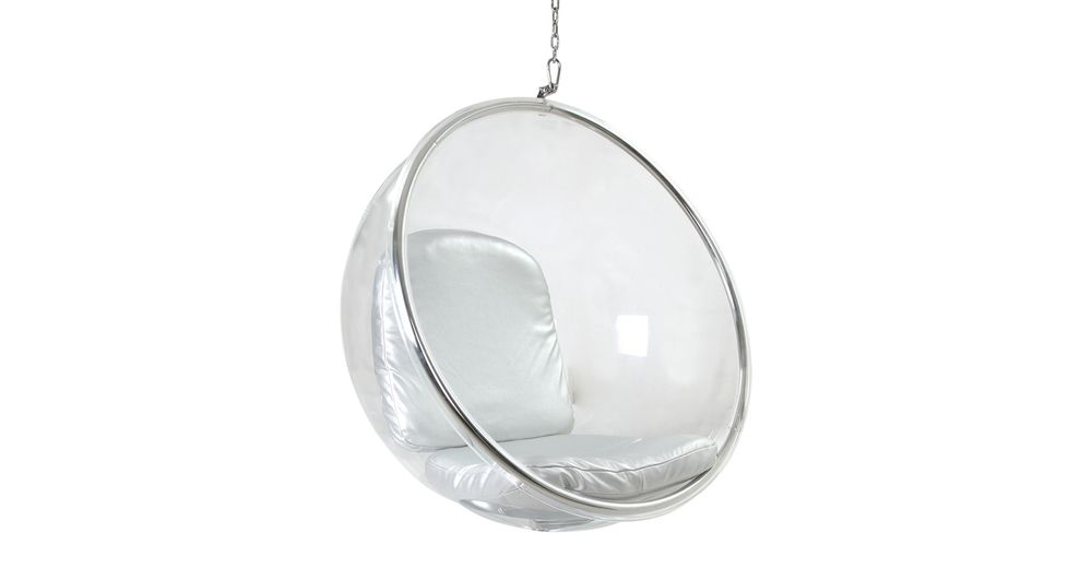 eero aarnio designed the original bubble chair in while residing in finland the industrial