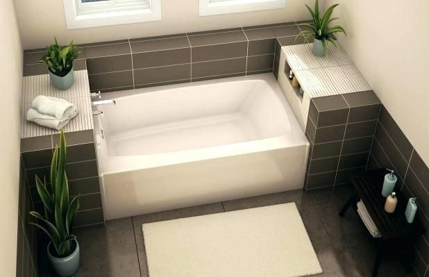 Short Bathtubs Bathtub Trendy Home Depot To Amazing Small Size Deep