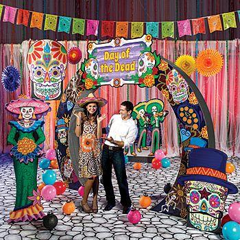 Dia De Los Muertos Halloween baby shower activity