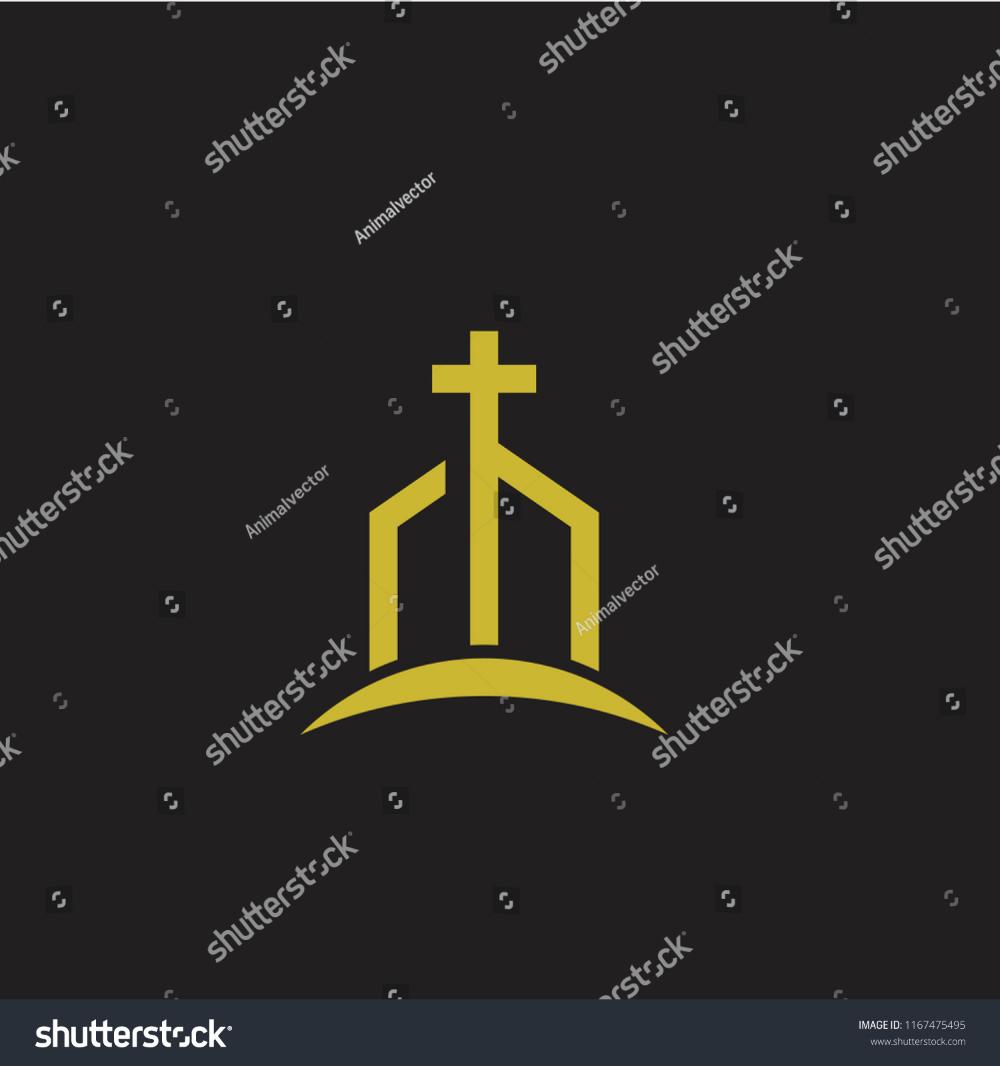 Church Minimal Logo Icon Designs Stock Vector Royalty Free 1167475495 Icon Design Logo Icons Church Icon