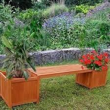 Jardines Con Bancas