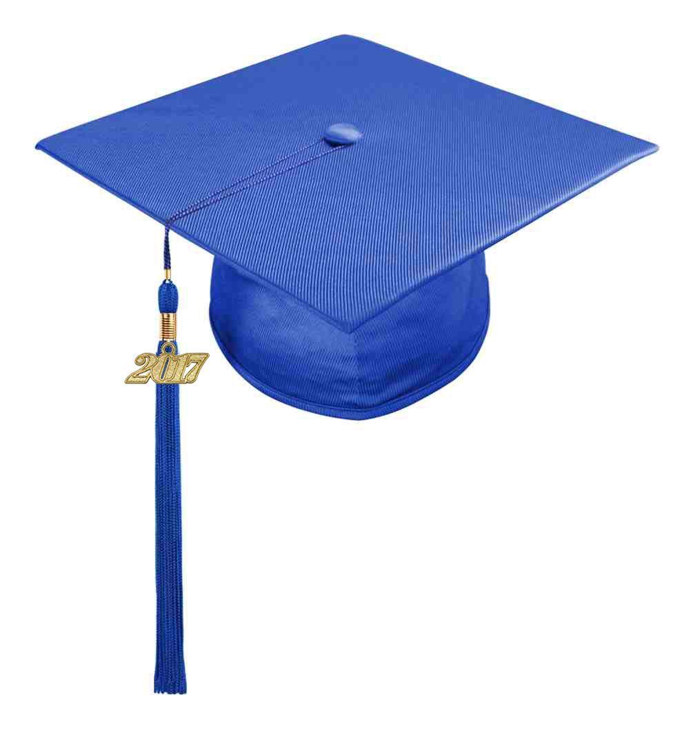 Tassel Decor Adult Graduation Cap University School Masters Academic Head-wear