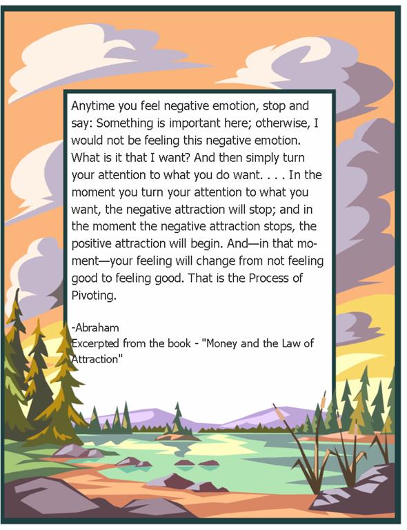 Negative Feelings