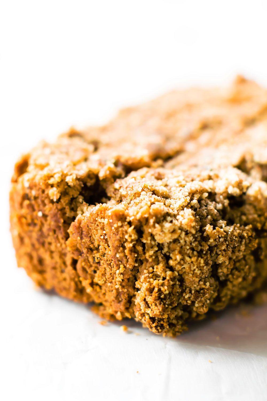 cinnamon streusel zucchini bread vegan grainfree paleo