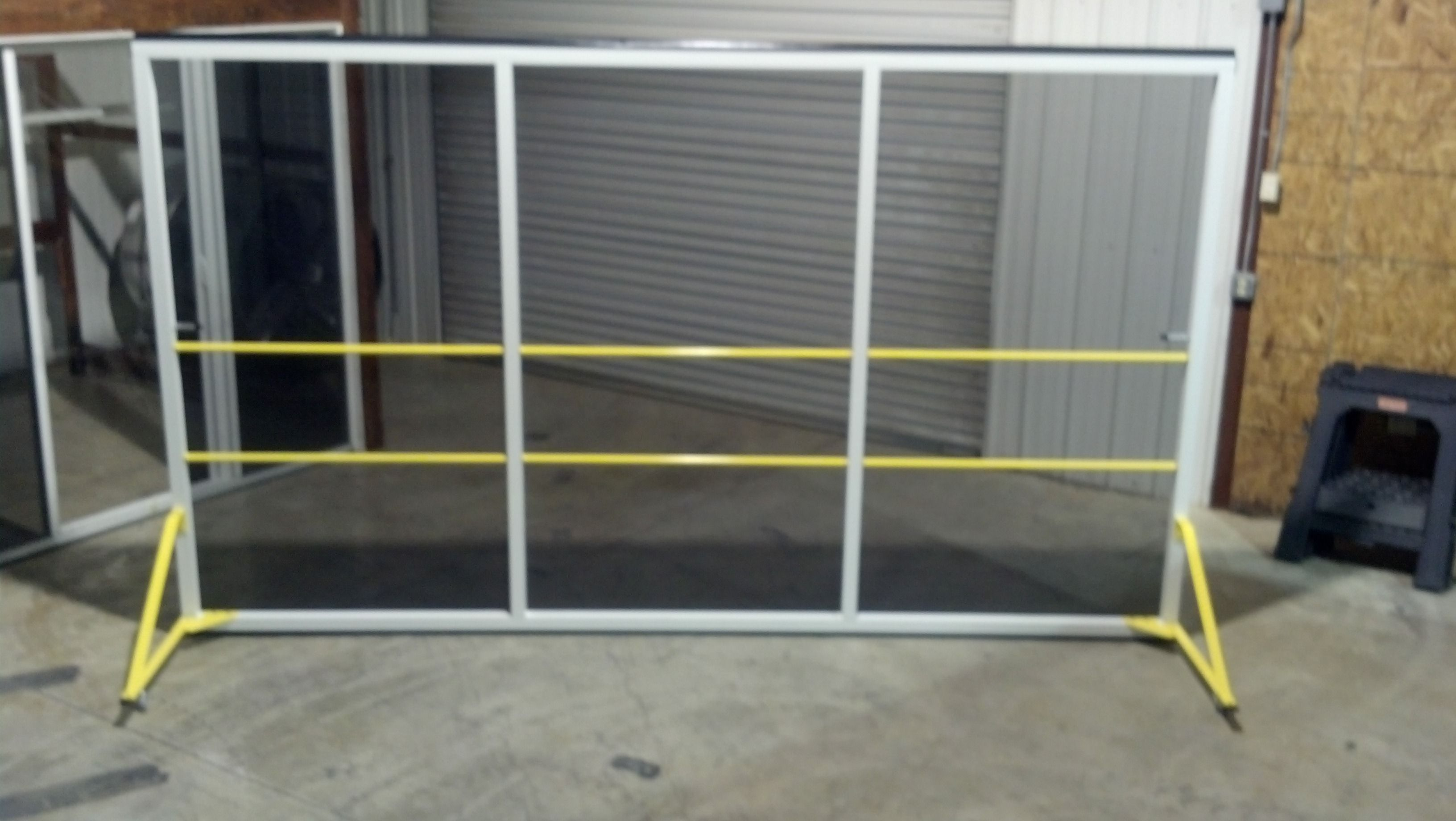 Rollaround Screens For Rollup Warehouse Doors From Advanced Screenworks, LLC