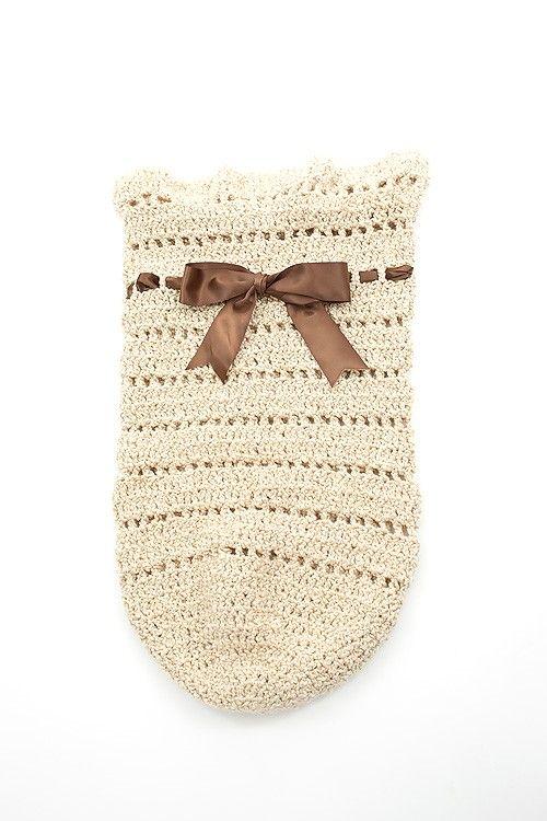 Crochet Cozy Sack | Saco bebe, Para bebés y Bebé