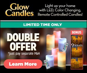 Buy Glow Candles at AsSeenAtTV.com   See on tv, Candle ...