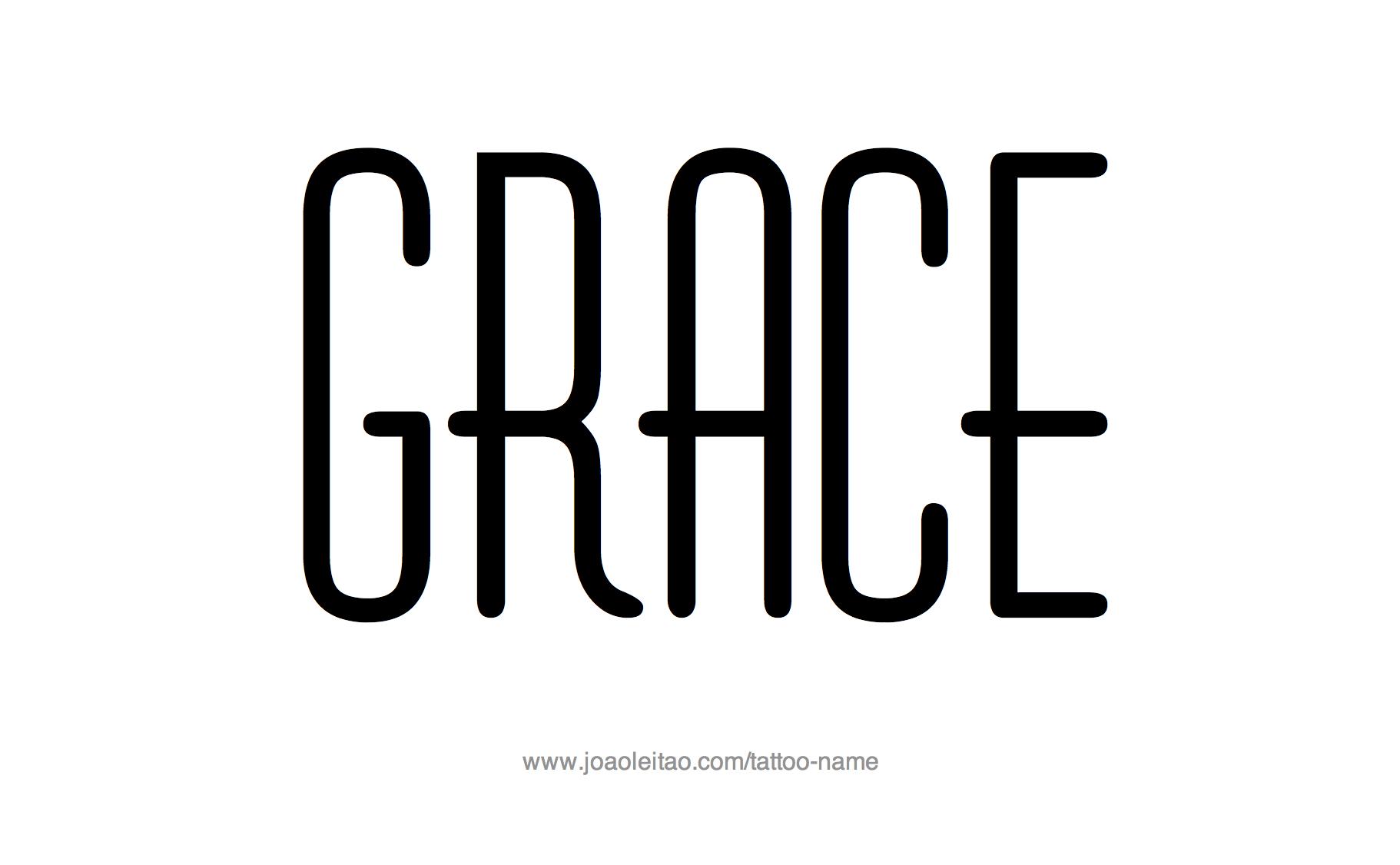 Grace Name Tattoo Designs Name Tattoo Name Tattoo Designs Name Tattoos