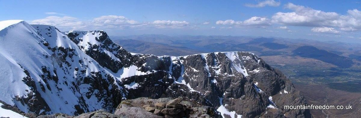 Ben Nevis - North Face from the summit