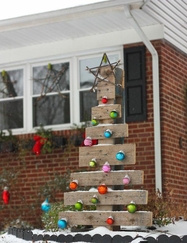 decoración de Navidad con árboles de Navidad