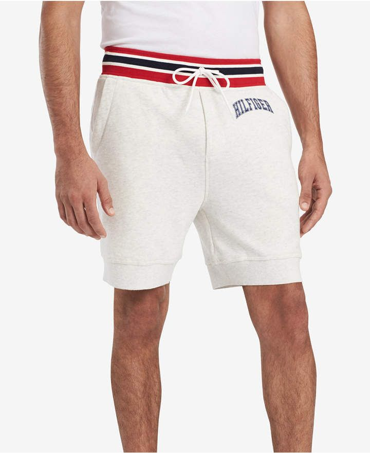 d7558849bd Tommy Hilfiger Men's Campus Sweat Shorts, Created for Macy's & Reviews -  Shorts - Men