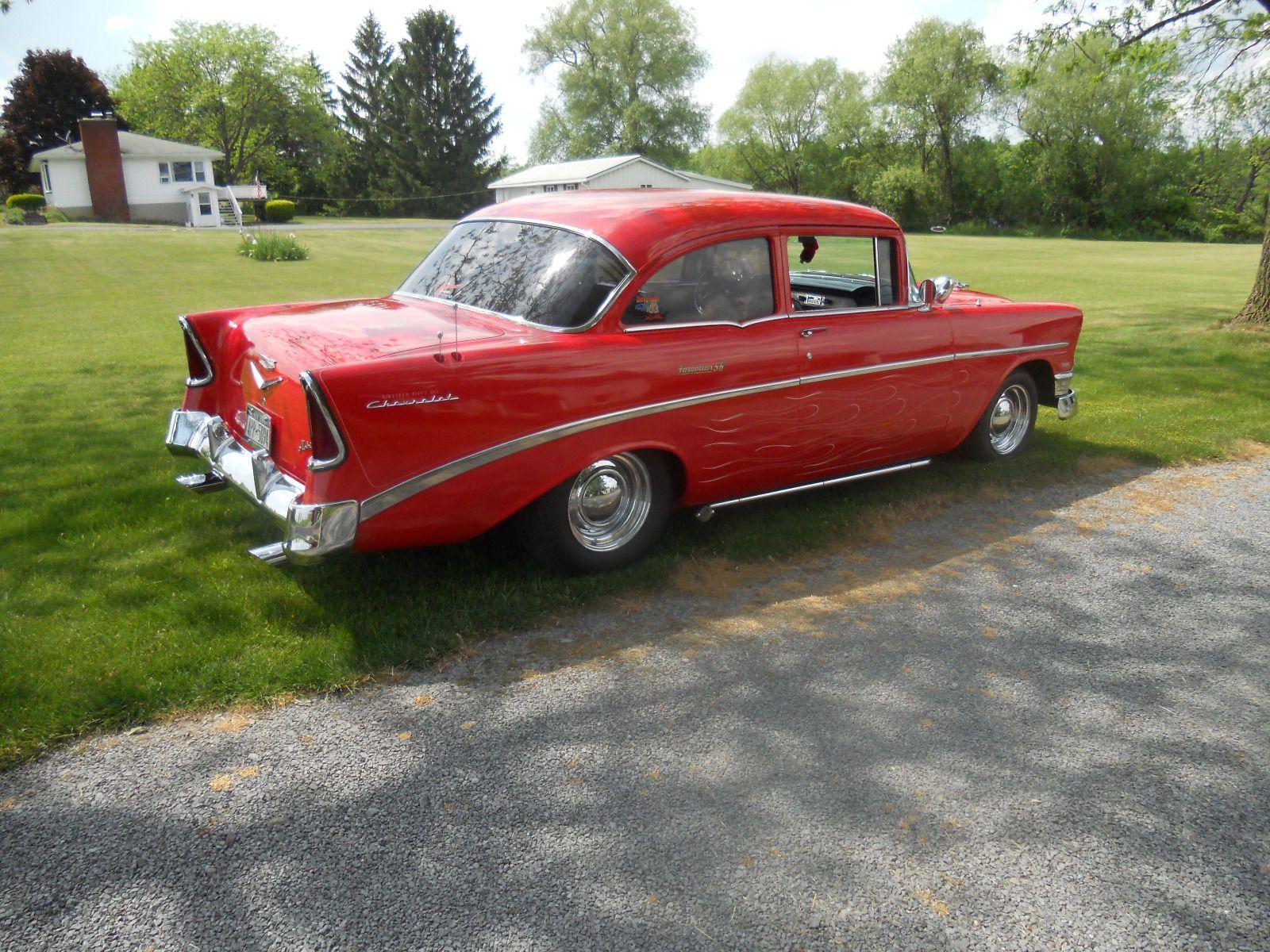 Chevrolet Bel Air 150 210 1956 Chevy 2 Door Hot Rod Project 1957 Hardtop