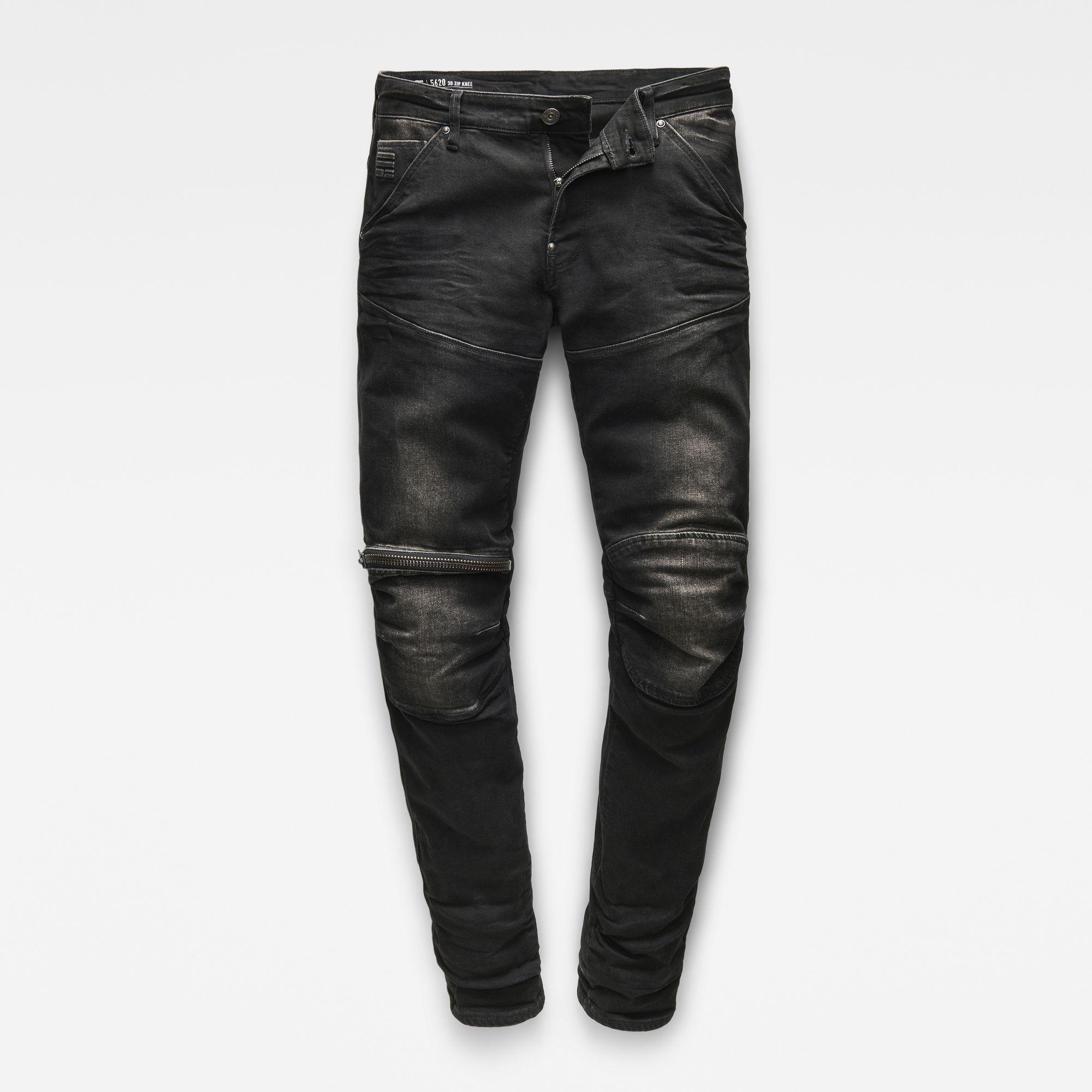 5620 G Star Elwood 3D Zip Knee Super Slim Jeans | Slim jeans