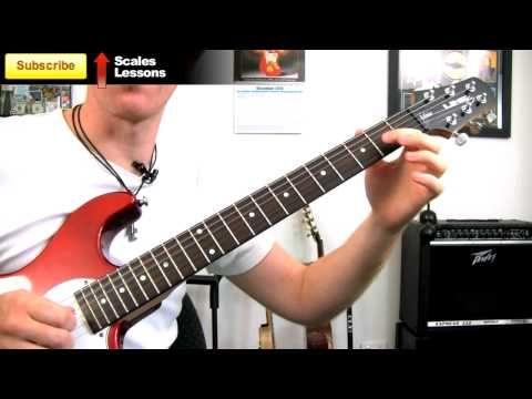 E Minor Blues Riff Easy Beginners Lead Guitar Soloing Lick