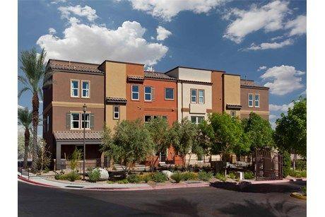 Monteverdi By Ryland Homes In North Las Vegas Nevada