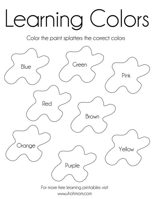 Printable Educational Coloring Pages For Kindergarten Coloring Page In 2020 Free Kindergarten Printables Learning Colors Welcome To Kindergarten