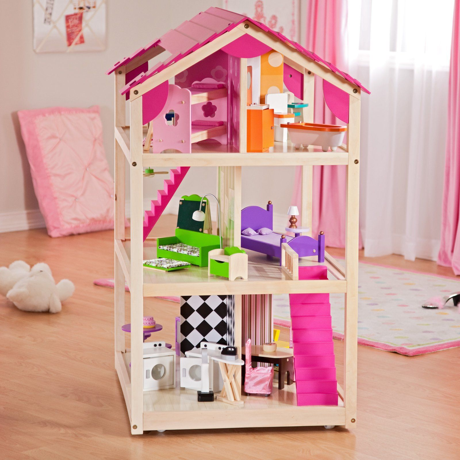 KidKraft So Chic Dollhouse Toy Dollhouses at Doll Houses