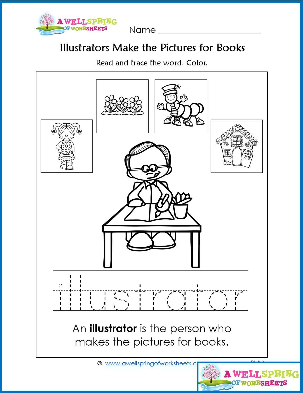 Worksheets By Subject A Wellspring Of Worksheets Parts Of A Book Library Skills Kindergarten Library [ 1650 x 1275 Pixel ]