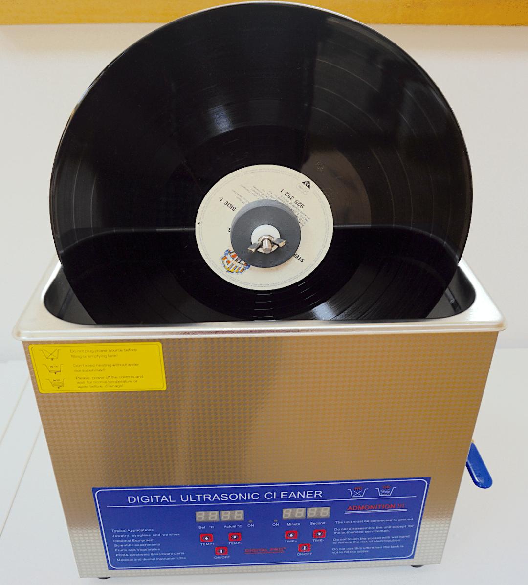 Record Cleaner Pro Ultrasonic Vinyl Cleaning The Audiophile Man Record Cleaner Clean Vinyl Records Vinyl
