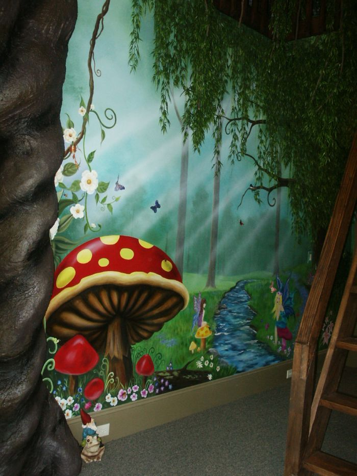 Pin By Jessica Buxton On Murals Pinterest Forest Mural Room And