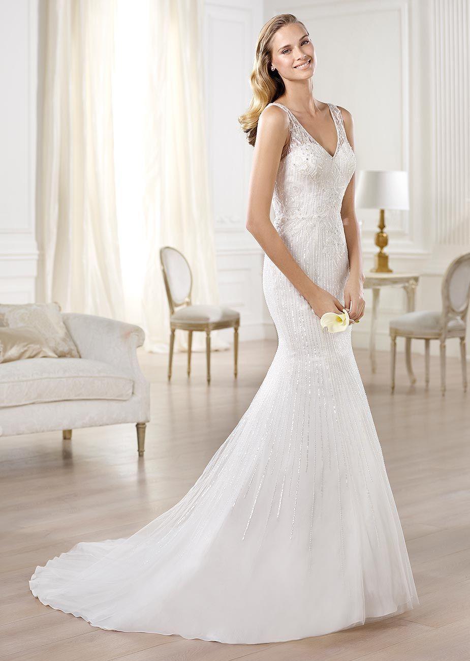 Olsen Pronovias Wedding Dress