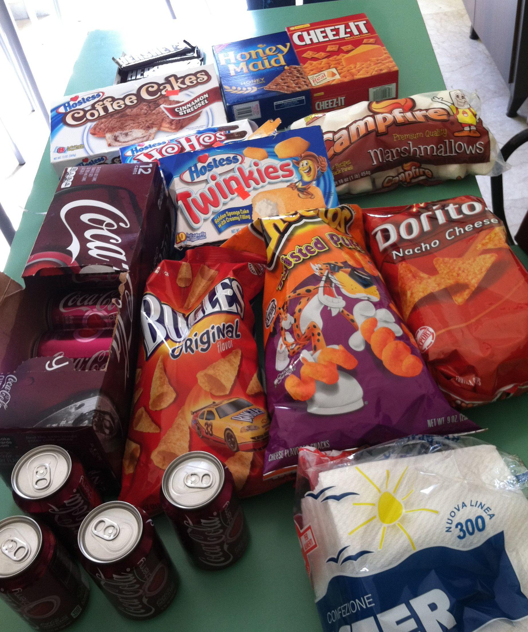 Good Junk Food Snacks For School