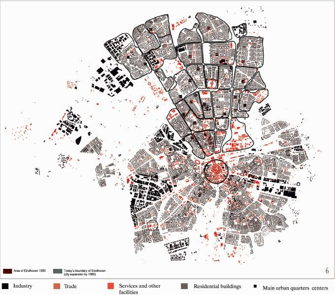 Graphic Site Map: Antonio Zumelzu_Spatial Identification Of Functions And Urban Quarter's Boundaries In Woensel