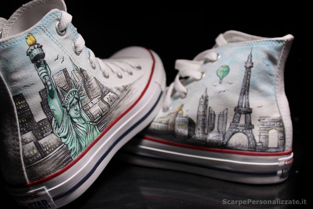 scarpe personalizzate converse