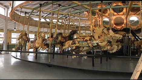 C  Fred Johnson Park Carousel, Johnson City NY | Carousels