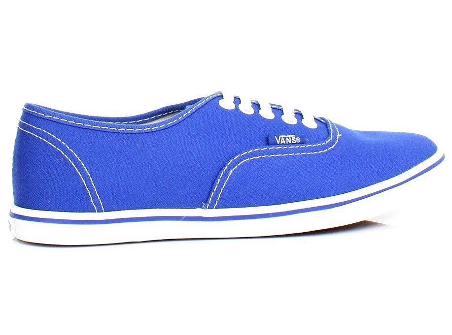 8f7496e052 VANS Women Authentic Lo Pro Dazzling Blue   True White Size 6 Shoes Brand  NWB