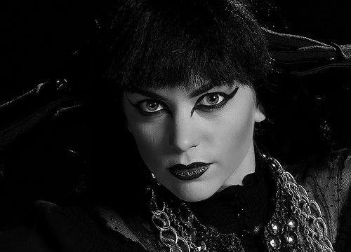 Gothic black & white