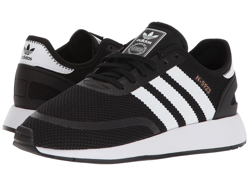 acbc81c688dd5b adidas Originals Kids N-5923 CLS J (Big Kid) Boys Shoes Black White ...