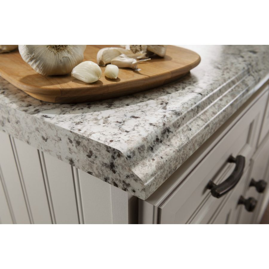 laminate kitchen countertops Shop BELANGER Fine Laminate Countertops Formica 6 ft Ouro Romano with Etchings Straight Laminate Kitchen